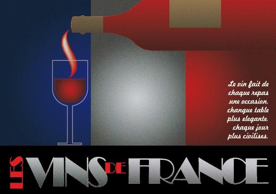El letrero de vino